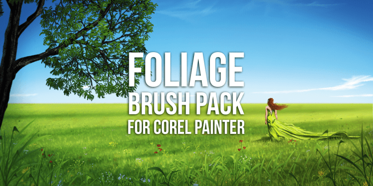 foliage brush pack for corel painter