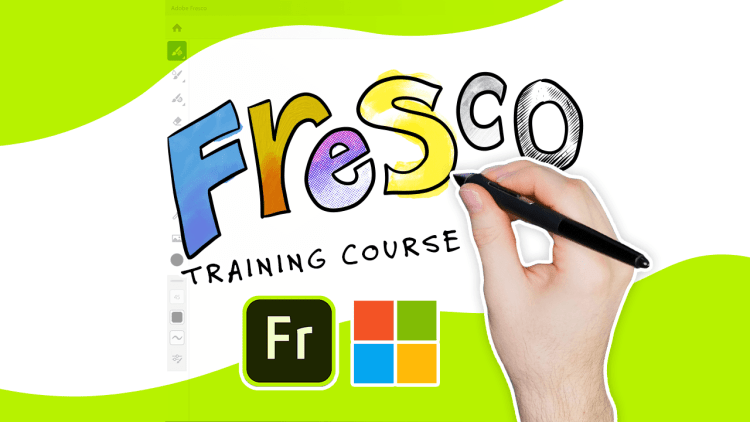 adobe fresco for windows 10 training course