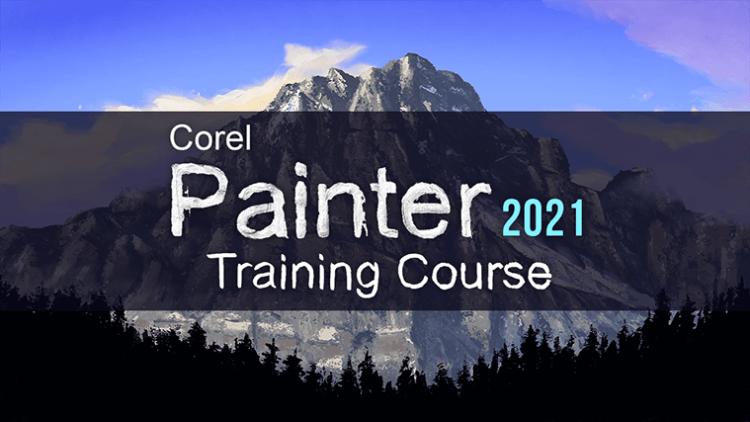 Corel Painter 2021 Training Course - PRE-ORDER