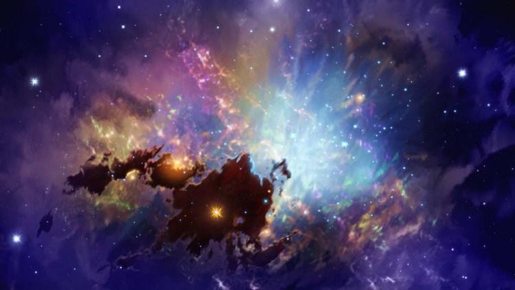 nebula artwork by digital artist, Aaron Rutten