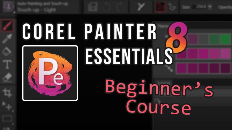 corel painter essentials 8 course - wide banner