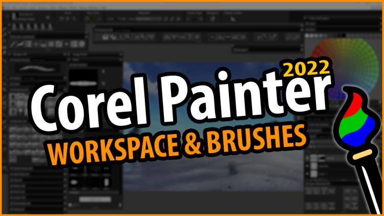 corel painter 2022 custom workspace