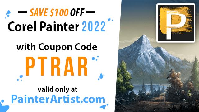 Corel Painter 2022 Coupon
