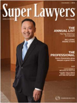 Stephen D Aarons featured in SuperLawyers