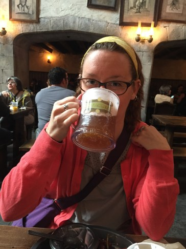 Leaky Cauldron Butterbeer for breakfast