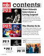 Relix Magazine Table Of Contents