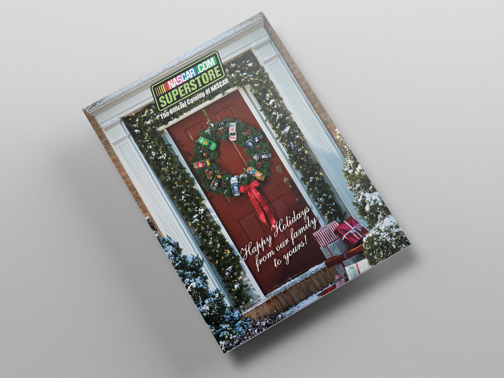 Store.NASCAR.com Holiday 2013 Catalog – Cover