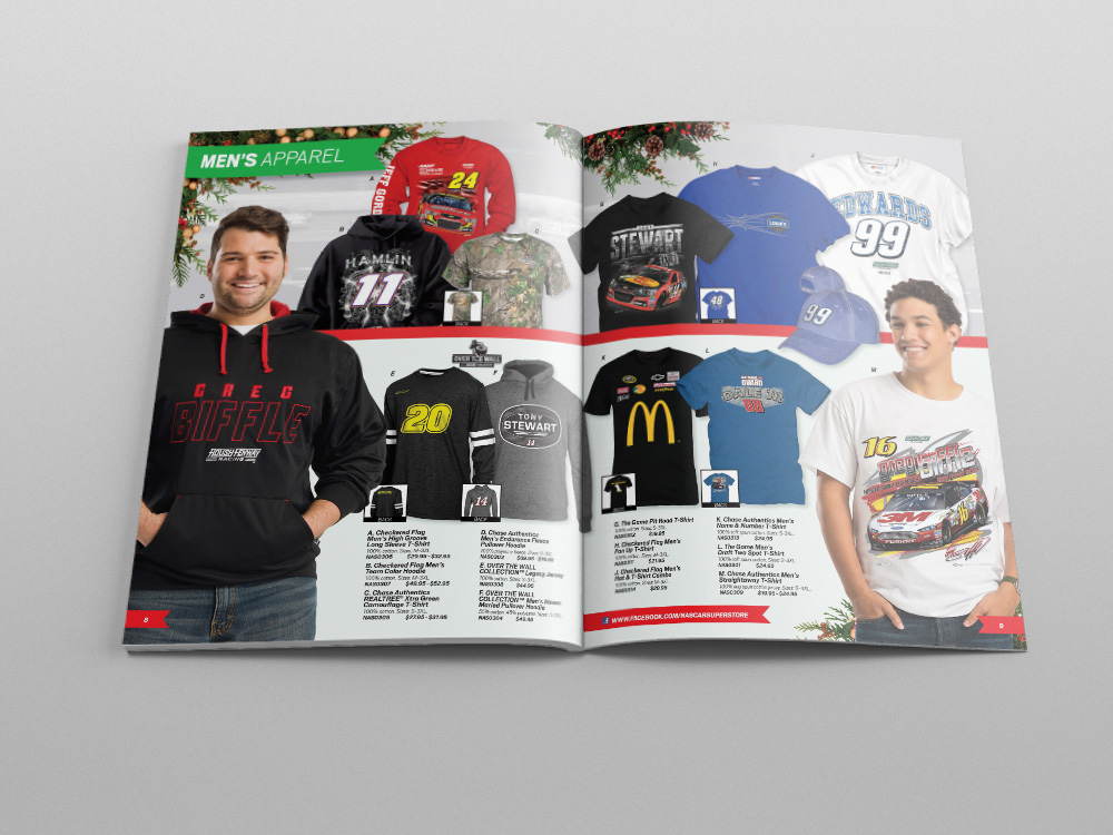 Store.NASCAR.com Holiday 2013 Catalog – Pages 09/10