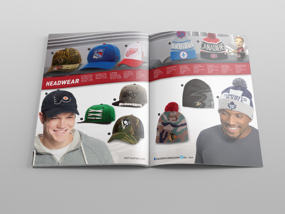 Shop.NHL.com Holiday 2014 Catalog – Pages 22/23