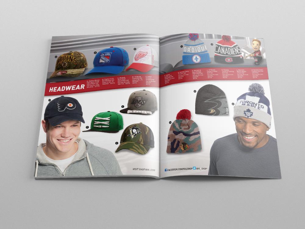 Shop.NHL.com Holiday 2014 Catalog – Pages 22/23
