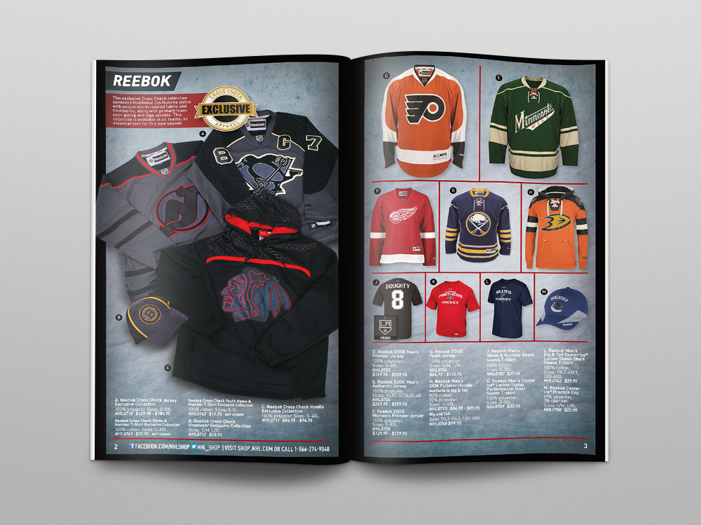 Shop.NHL.com 2014 Catalog – Pages 02/03