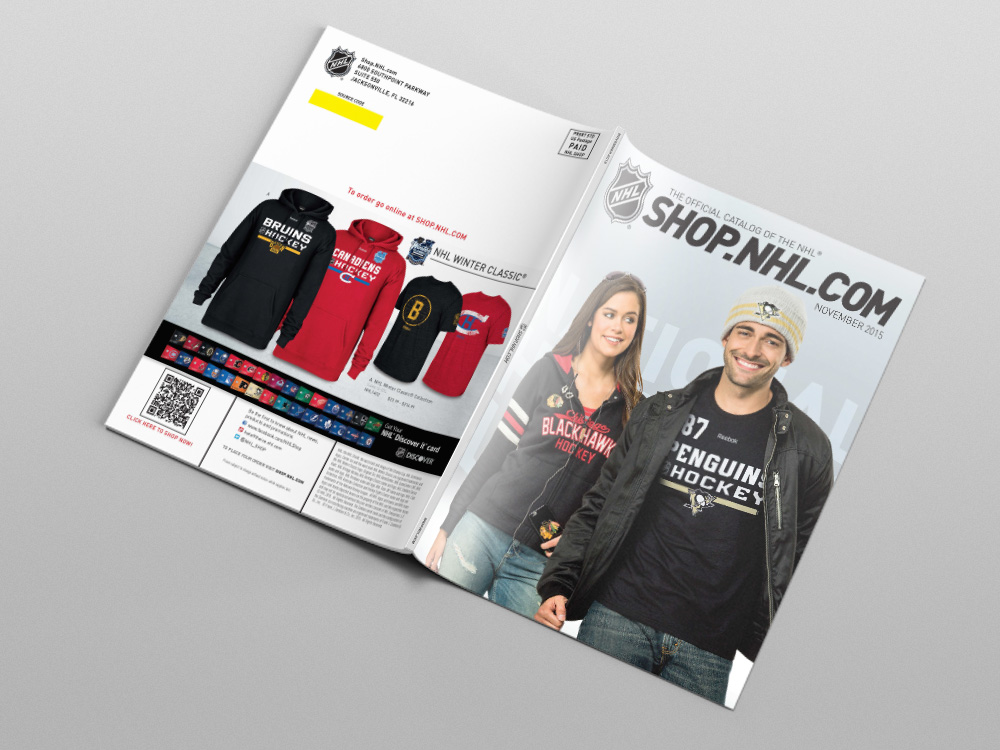 Shop.NHL.com November 2015 Catalog – Cover