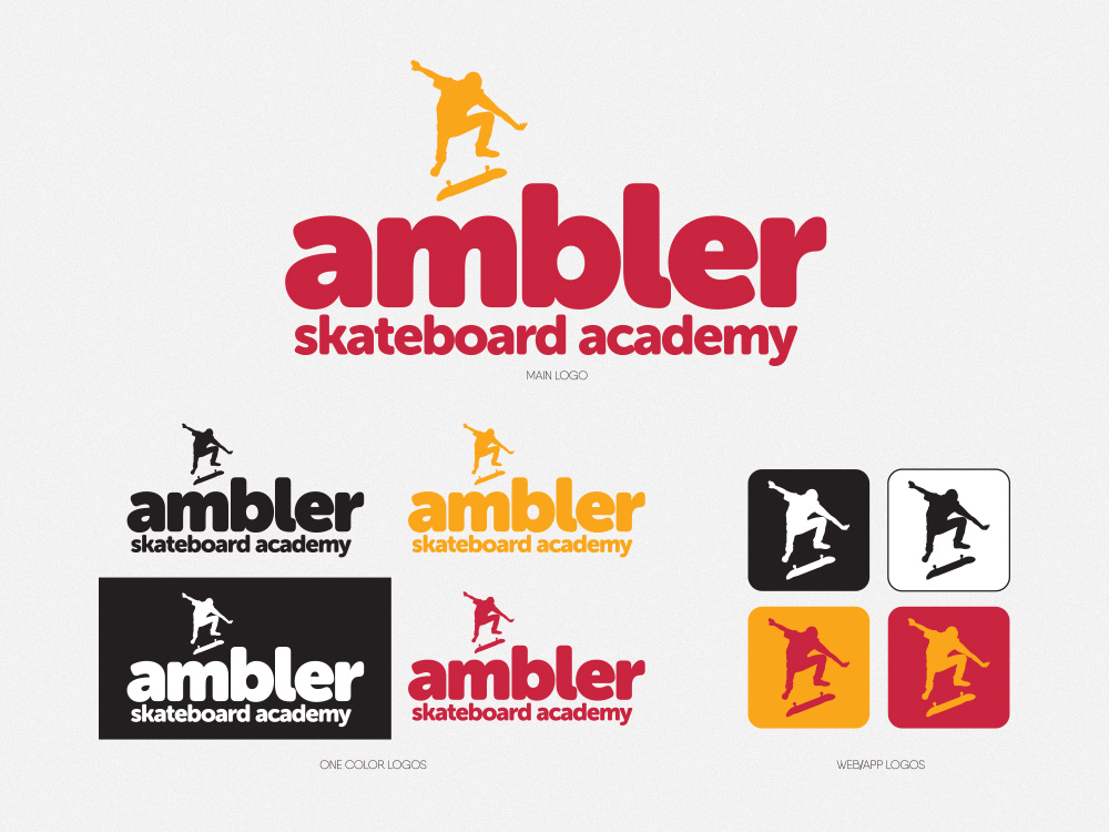 Ambler Skate Academy – Logo