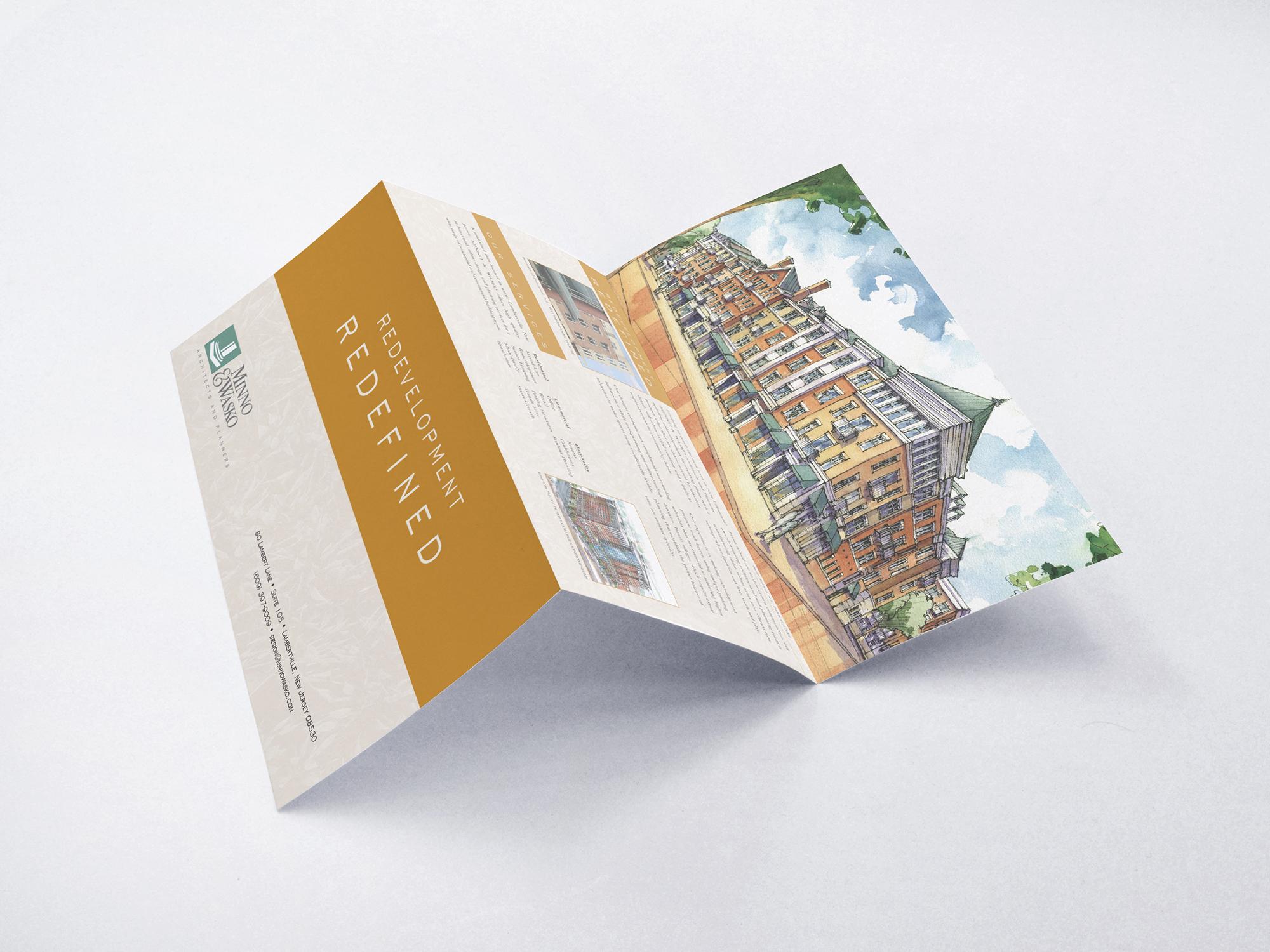 Mine & Wasko Brochure – Front