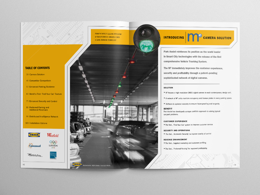 Park Assist Brochure – Pages 02/03