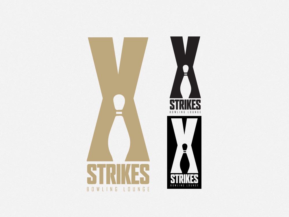 Strikes Bowling Lounge – Logo