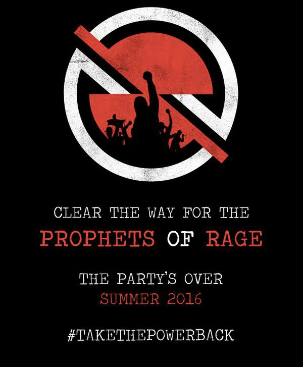 Prophets of Rage – 2016 Tour Poster 2