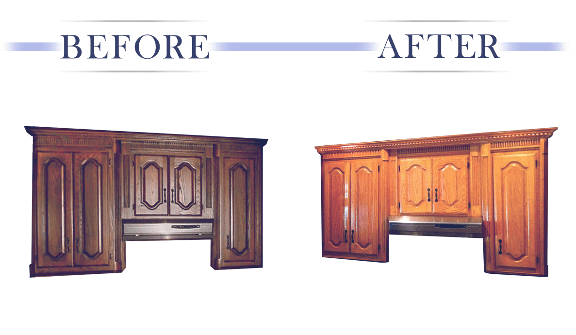 Kitchen Cabinet Refinishing Services In Dfw Aaron S Touch Up