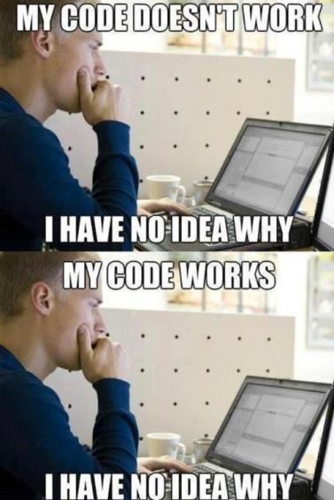 Any day of coding