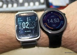 Asus ZenWatch and Moto 360 Sport