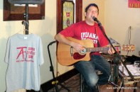 Aaron Traffas at Buster's in Sun City, Kansas