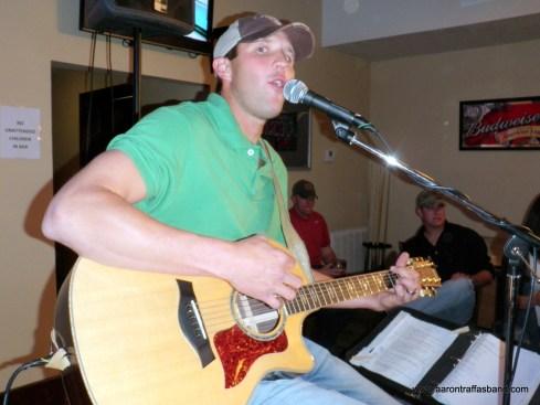 Anthony Farrar at Buster's in Sun City, Kansas
