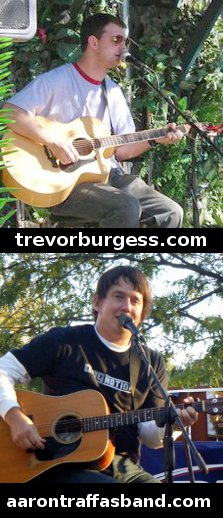Trevor Burgess and Aaron Traffas