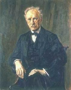 Richard Strauss, maleri af Max Liebermann