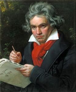 Portræt af Beethoven (Joseph Karl Stieler, 1781-1858)