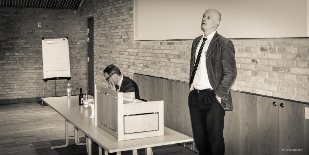 """Video: Kasper Støvring """"Systemkritik og den konservative litteratur"""""""