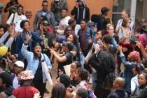 #FeesMustFall Day 1, when students declared a University shut down, after Higher Education and Training Blade Nzimande recommended a maximum 8% fee increment for 2017