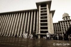 Idul Fitri at Masjid Istiqlal