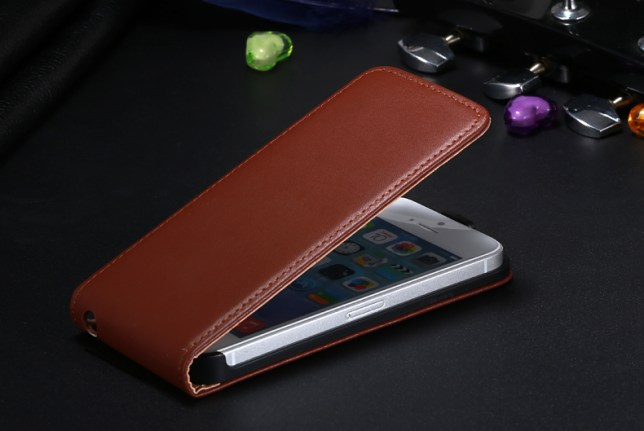 magnetic flip case over iPhone