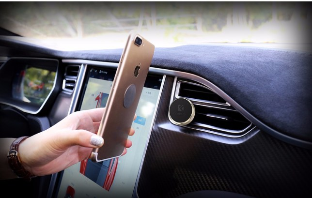 air vent luchtrooster auto iphone houder