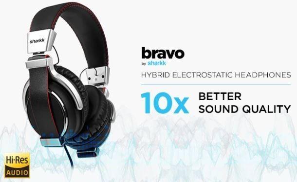 bravo elektrostatische hoofdtelefoon review