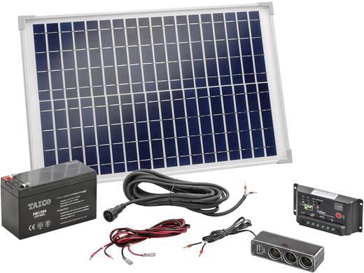 20W zonnepaneel met 8AH accu