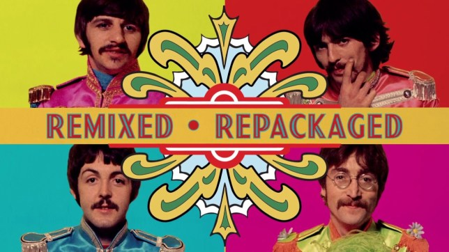 beatles sgt peppers remix 2017