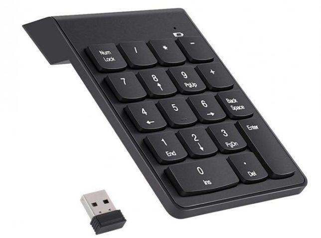 draaloos numeriek keyboard pad