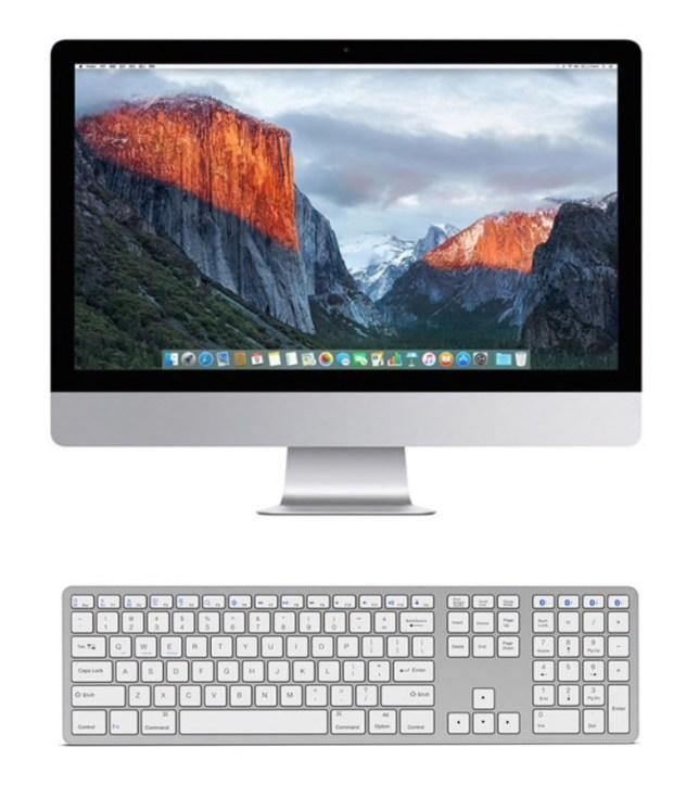 107 keys apple extended keyboard