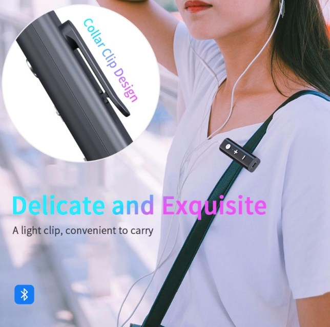 multipoint bluetooth 5.0 clip