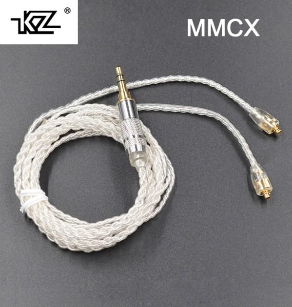 Deze MMCX kabel is verzilverd. KOst ook nog geen tientje en is een goede upgrade als je last hebt van contactgeluiden.