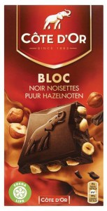pure chocola met hazelnoten test Cote d'or