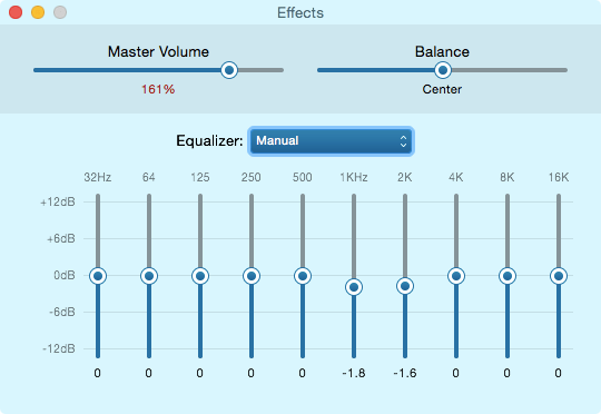 TRN v20 review EQ setting
