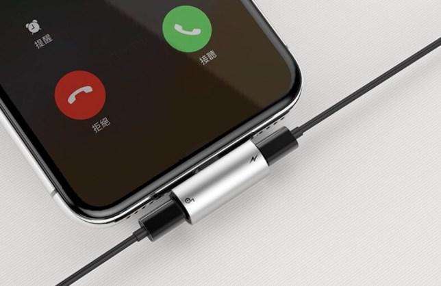Lighting Audio adapter minijack bellen opladen