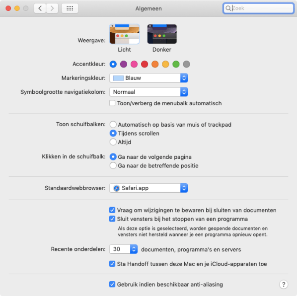 mojave letters onscherp vage fonts anti aliasing
