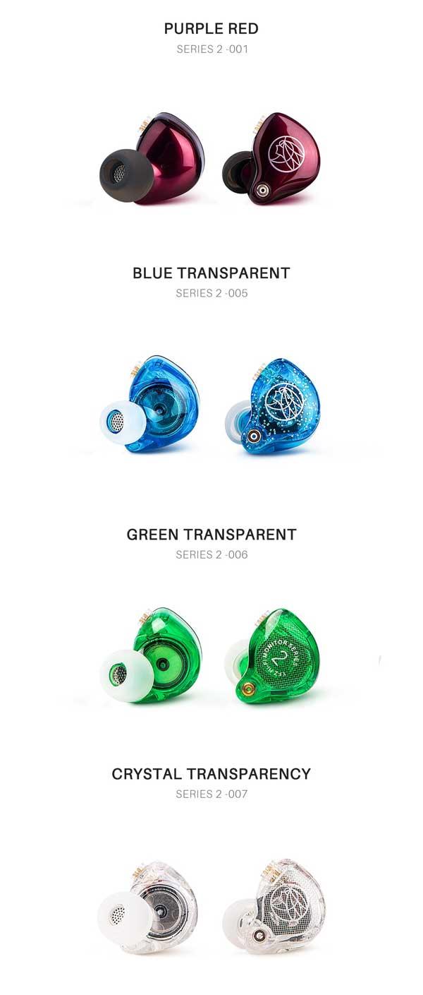 TFZ Series 2 in alle kleuren