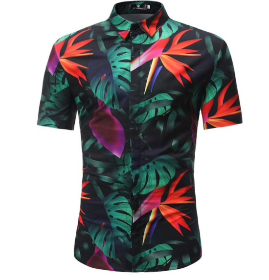 Hawaii shirt stretch