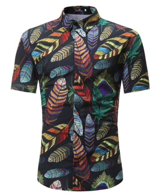 zomer shirt korte mouw polyester stretch