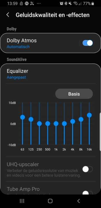 gehoortest Dolby Atmos AKG Samsung Galaxy