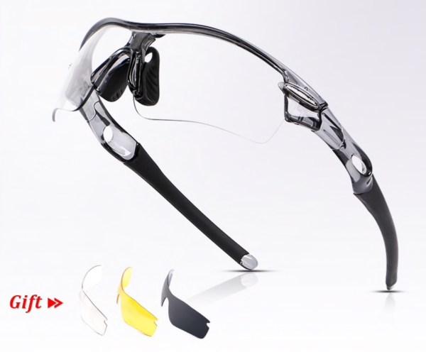 Photochromic zonnebril sport fietsen
